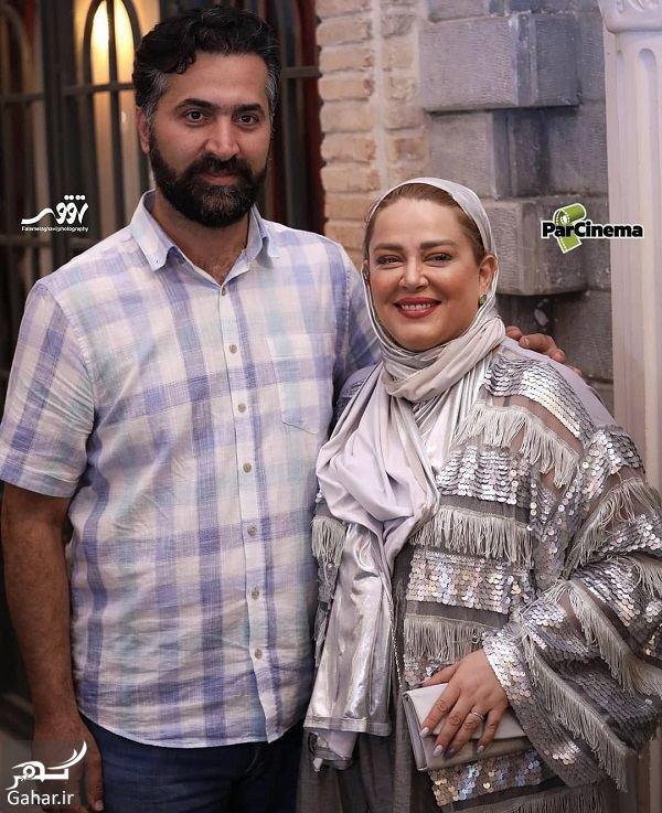 عکسهای بهاره رهنما و همسرش در اکران خصوصی ایکس لارج, جدید 1400 -گهر