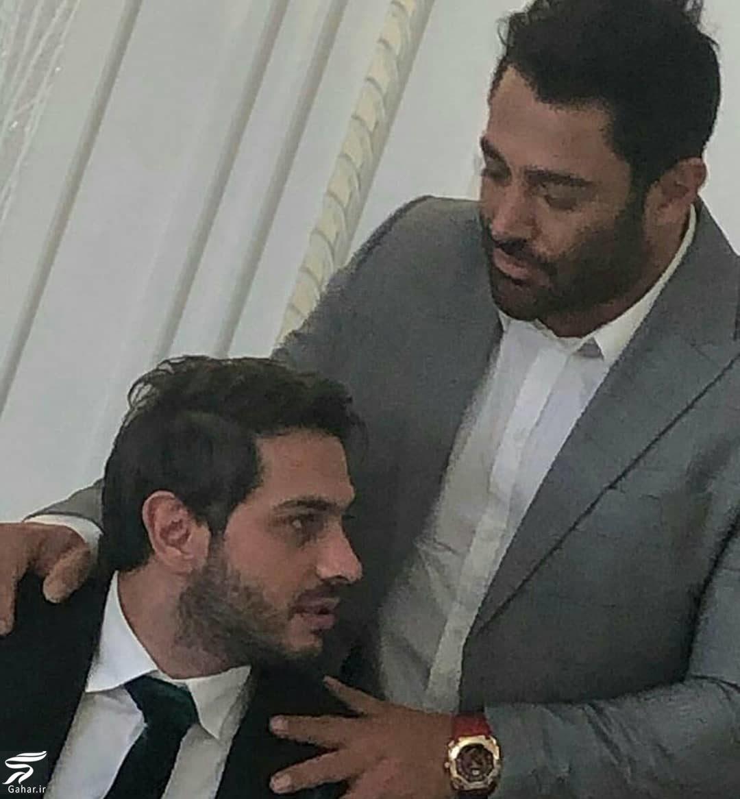 210536 Gahar ir عکسهای محمدرضا گلزار در مراسم عقد برادرش