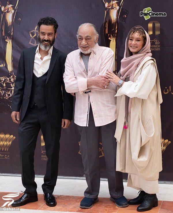 376863 Gahar ir ظاهر متفاوت سحر ولدبیگی و همسرش در جشن خانه سینما / تصاویر