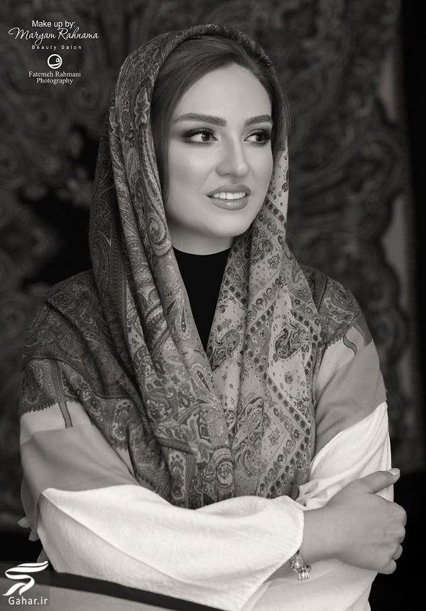 عکسهای آتلیه ای گلاره عباسی با میکاپ زیبا, جدید 1400 -گهر