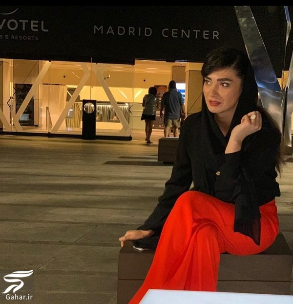 457800 Gahar ir استایل مینا وحید در جشنواره بین المللی مادرید / تصاویر