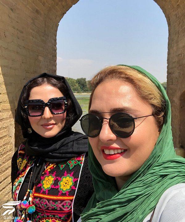 463879 Gahar ir عکسهای دیدنی نرگس محمدی و خواهرش در اصفهان