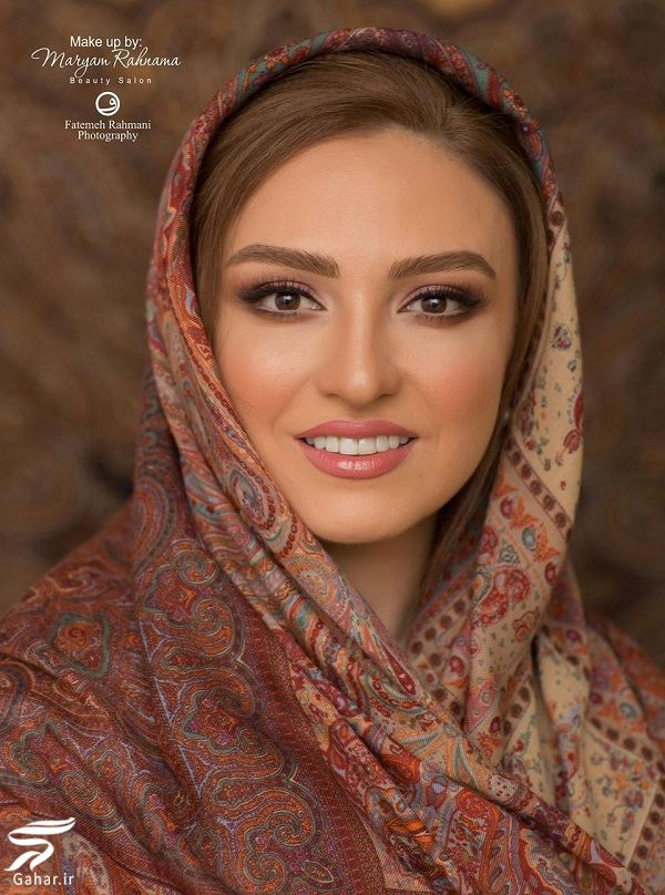 501749 Gahar ir عکسهای آتلیه ای گلاره عباسی با میکاپ زیبا
