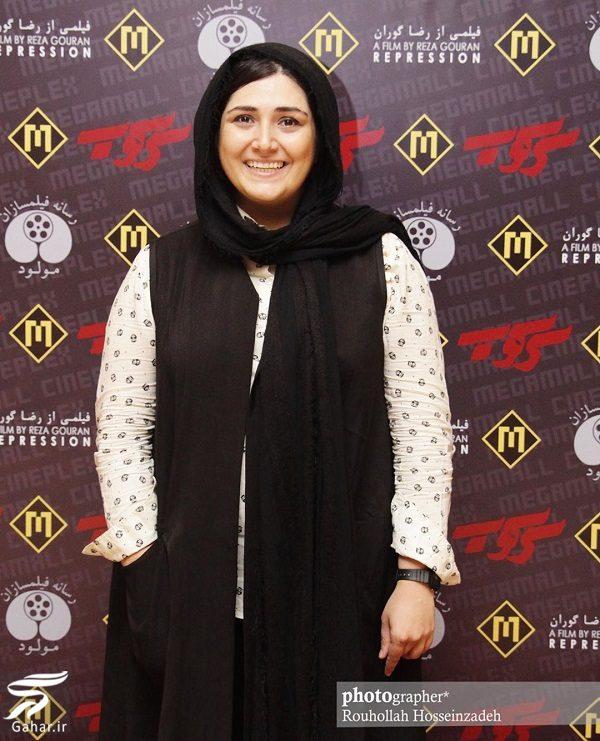 515420 Gahar ir عکسهای دیدنی باران کوثری و پردیس احمدیه در اکران فیلم سرکوب