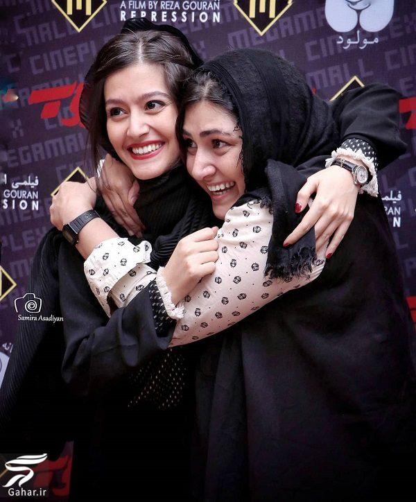 664208 Gahar ir عکسهای دیدنی باران کوثری و پردیس احمدیه در اکران فیلم سرکوب
