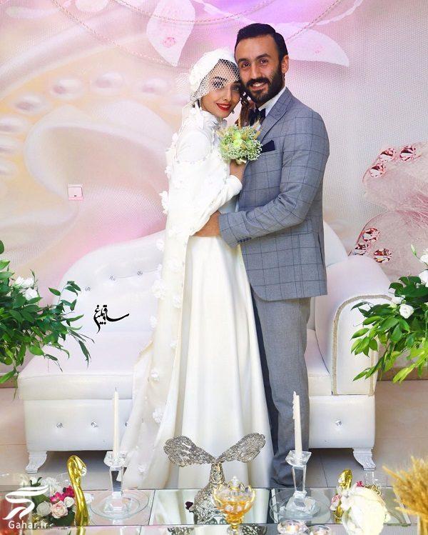 عکسهای عروسی دریا مرادی دشت و پویان گنجی (پسر فاطمه گودرزی), جدید 1400 -گهر