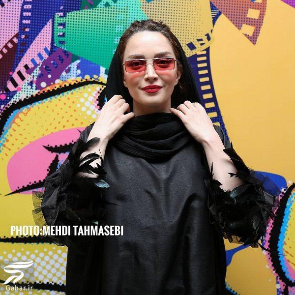 عکسهای بهنوش طباطبایی در پنجمین جشن عکاسان سینما, جدید 1400 -گهر