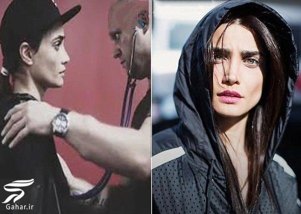 308406 Gahar ir بازیگری که برای مسابقه بوکس موهایش را تراشید! / عکس