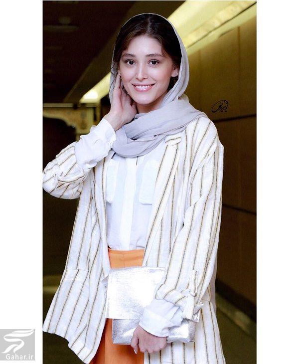عکسهای فرشته حسینی در بیست و یکمین جشن خانه سینما, جدید 1400 -گهر