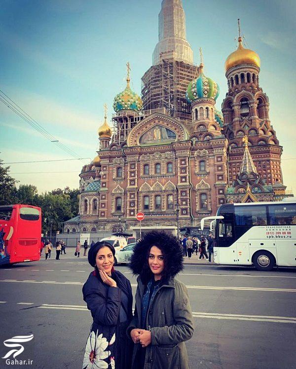 378821 Gahar ir تفریحات خواهران فرجاد در سن پترزبورگ با تیپ متفاوت / 10 عکس