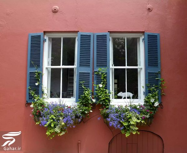 418138 Gahar ir 11 پیشنهاد جذاب برای گل کاری گلدان جلوی تراس و پنجره