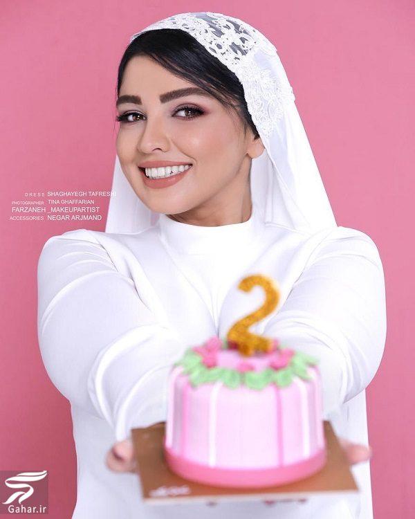عکسهای متفاوت سیما خضرآبادی در دومین سالگرد ازدواجش, جدید 1400 -گهر