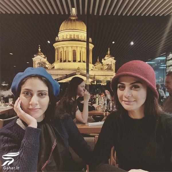 671907 Gahar ir تفریحات خواهران فرجاد در سن پترزبورگ با تیپ متفاوت / 10 عکس