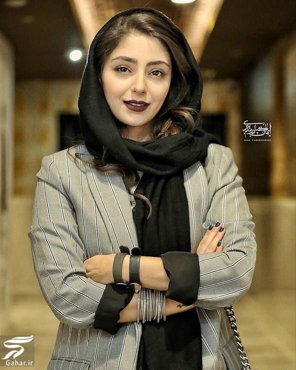 عکسهای جدید هستی مهدوی فر در اکران ماجرای نیمروز ۲, جدید 1400 -گهر