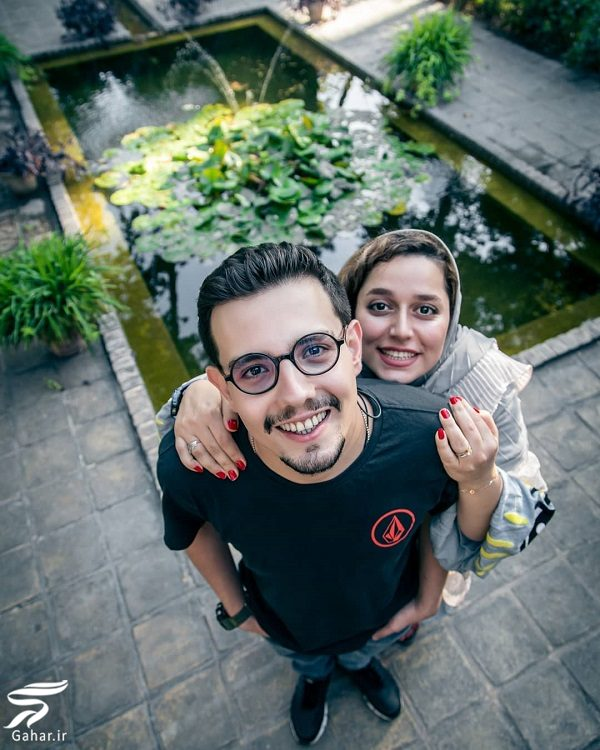 872121 Gahar ir عکس دیدنی امیر کاظمی و همسرش مهتاب محسنی