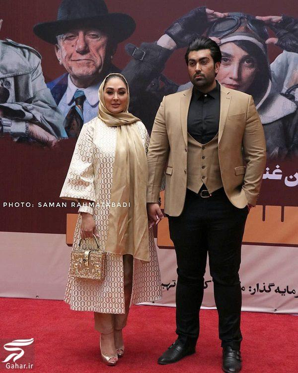 135665 Gahar ir عکسهای الهام حمیدی و همسرش در اکران خصوصی مسخره باز