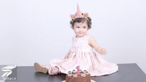 176114 Gahar ir عکسهای جدید نیما مسیحا و همسرش در تولد 1 سالگی دخترشان