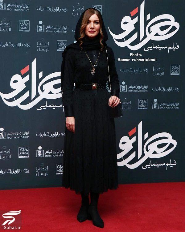 224170 Gahar ir ظاهر جدید متین ستوده و سمیرا حسینی در اکران هزارتو / 6 عکس