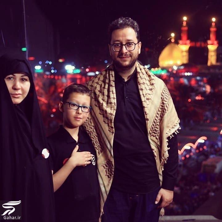 516812 Gahar ir عکس دکتر بشیر حسینی و همسر و فرزندش