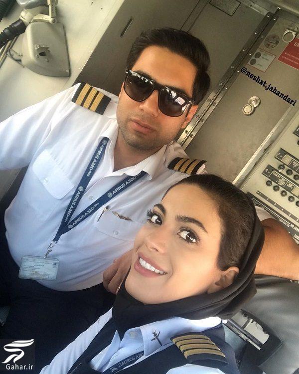 658129 Gahar ir عکسها و بیوگرافی نشاط جهانداری اولین خلبان زن ایرانی