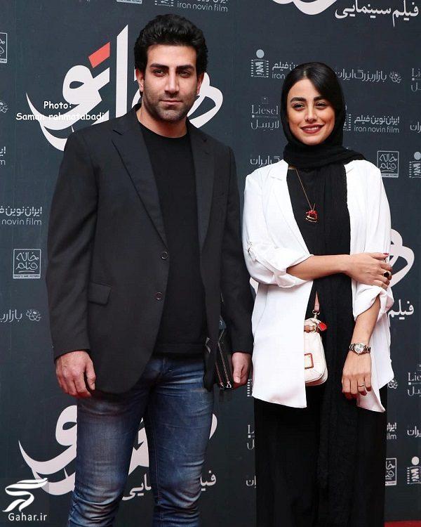 عکسهای جدید نازنین کیوانی و همسرش در اکران هزارتو · جدید ۹۸ -گهر