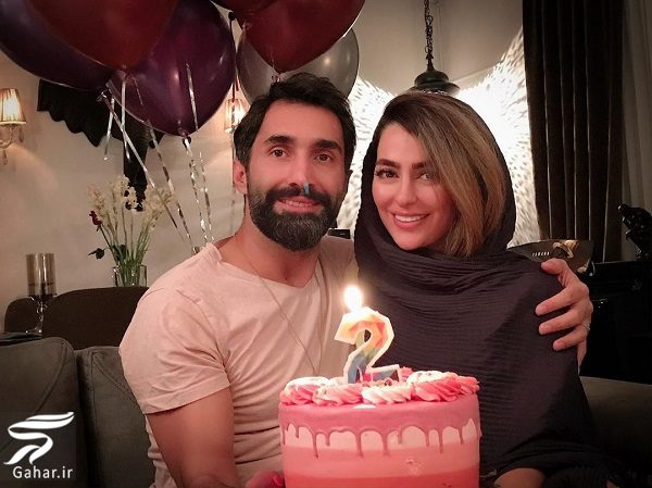 693696 Gahar ir جشن تولد 32 سالگی سمانه پاکدل در کنار همسرش / عکس