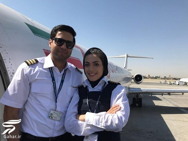 754098 Gahar ir عکسها و بیوگرافی نشاط جهانداری اولین خلبان زن ایرانی
