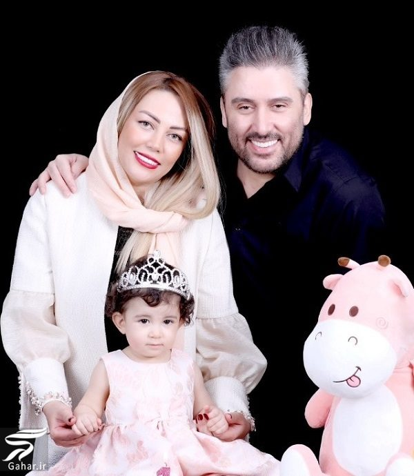878474 Gahar ir عکسهای جدید نیما مسیحا و همسرش در تولد 1 سالگی دخترشان
