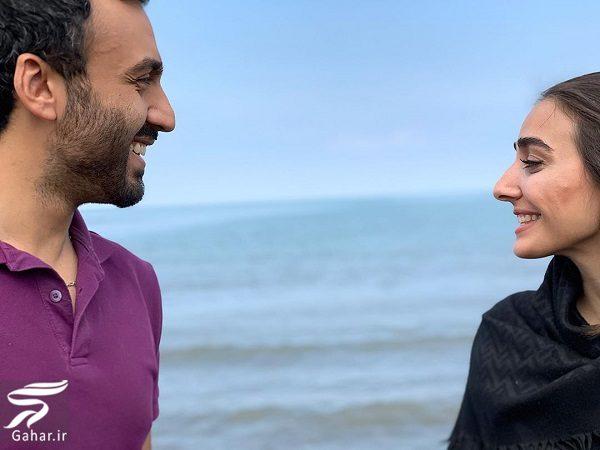 965525 Gahar ir پست عاشقانه دریا مرادی دشت برای همسرش (پسر فاطمه گودرزی)