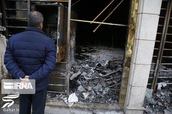 013530 Gahar ir تصاویری از تخریب اموال عمومی توسط معترضین