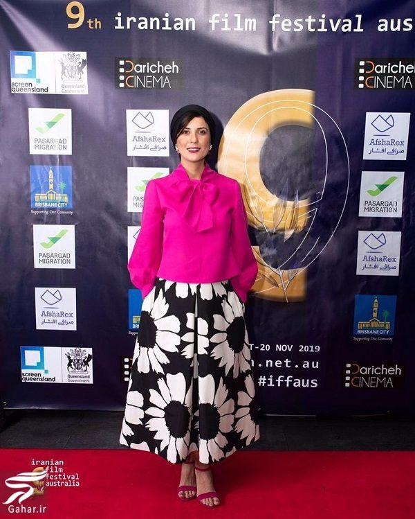 098935 Gahar ir استایل سارا بهرامی در جشنواره فیلمهای ایران استرالیا