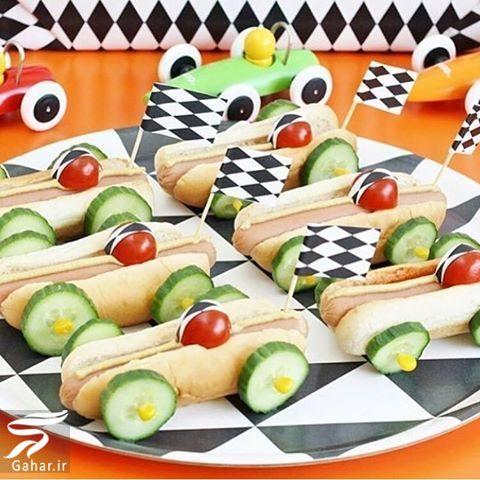 153415 Gahar ir تزیین غذا کودکان و بچه ها با انواع خوراکی ها