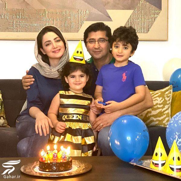 عکسهای تولد ۳۹ سالگی شیلا خداداد در کنار همسر و فرزندانش, جدید 99 -گهر