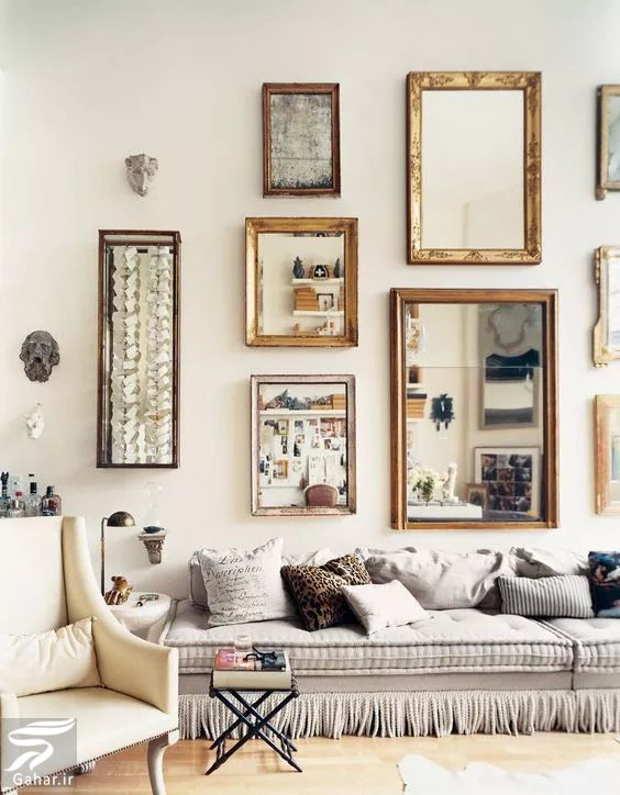 227844 Gahar ir کاربرد آینه در دکوراسیون مکانهای مختلف منزل