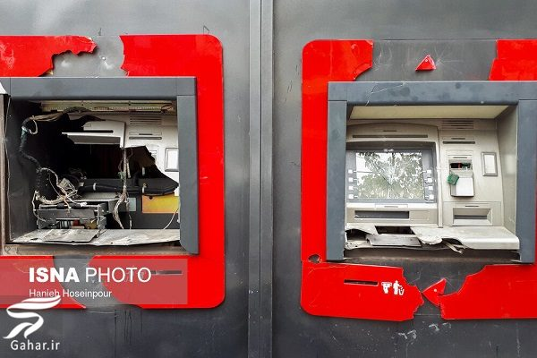 249608 Gahar ir تصاویری از تخریب اموال عمومی توسط معترضین