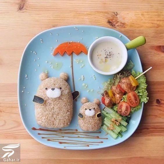274306 Gahar ir تزیین غذا کودکان و بچه ها با انواع خوراکی ها
