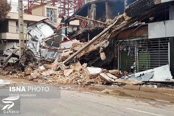 342132 Gahar ir تصاویری از تخریب اموال عمومی توسط معترضین