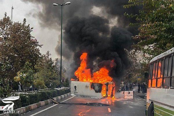600262 Gahar ir تصاویری از تخریب اموال عمومی توسط معترضین