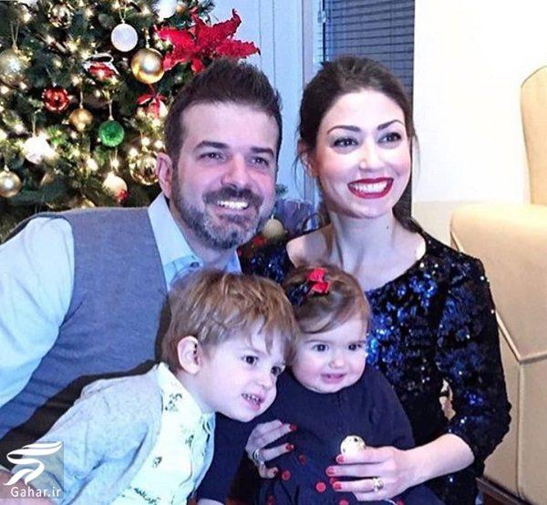 620153 Gahar ir عکس خندان استراماچونی و همسر و فرزندانش