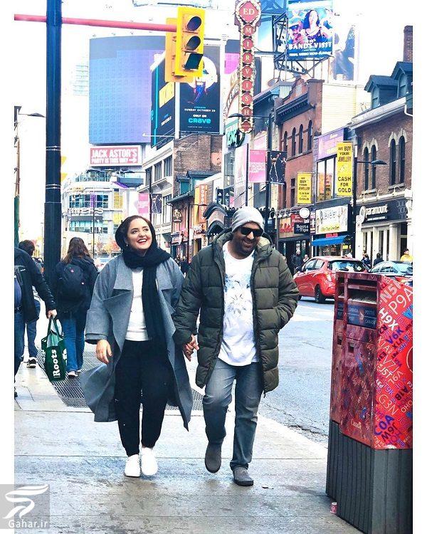 737729 Gahar ir عکسهای دیدنی از تفریحات نرگس محمدی و همسرش در کانادا