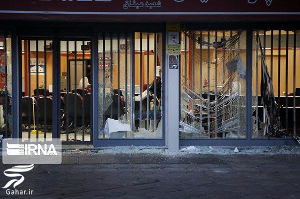 823852 Gahar ir تصاویری از تخریب اموال عمومی توسط معترضین