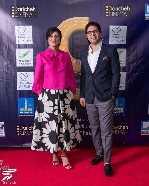 975640 Gahar ir استایل سارا بهرامی در جشنواره فیلمهای ایران استرالیا
