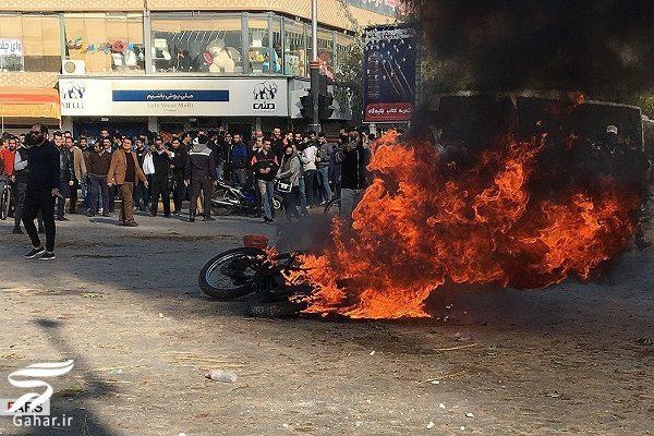 977801 Gahar ir تصاویری از تخریب اموال عمومی توسط معترضین