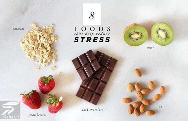 023015 Gahar ir معرفی خوراکی های کاهش دهنده استرس