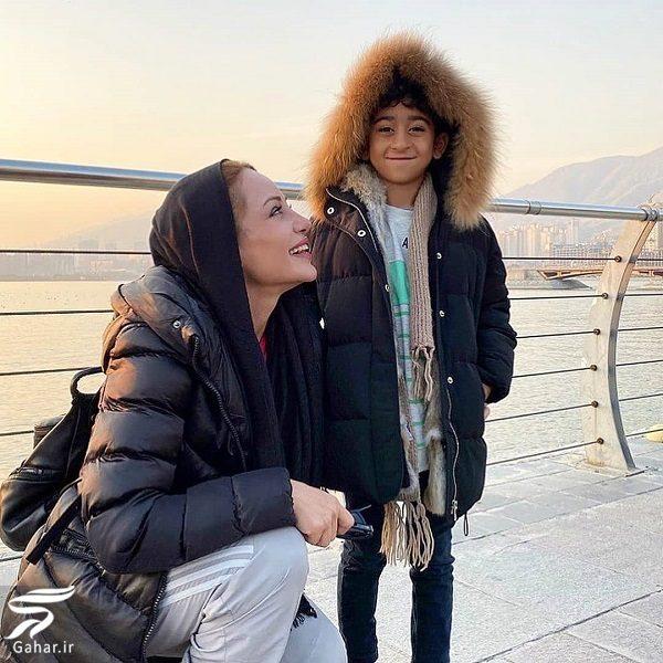عکسهای رامانا سیاحی آنجلینا جولا ایرانی و کچلیک, جدید 1400 -گهر