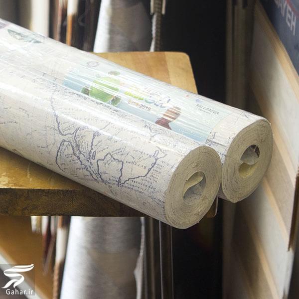 مدلهای جدید کاغذ دیواری، پارکت و پرده زبرا در سال ۲۰۲۰, جدید 1400 -گهر