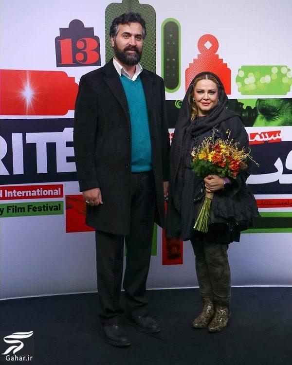 بهاره رهنما و همسرش در جشنواره سینما حقیقت / ۴ عکس, جدید 1400 -گهر