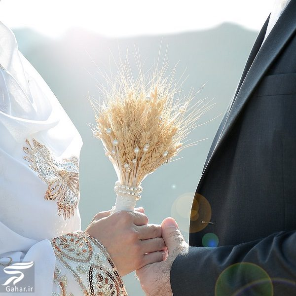 474881 Gahar ir عکسهای عروسی سوگل طهماسبی با لباس بختیاری