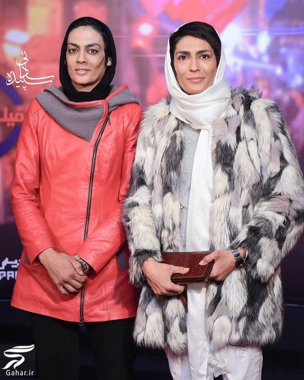 492508 Gahar ir عکسهایی متفاوت از خواهران منصوریان در اکران مطرب
