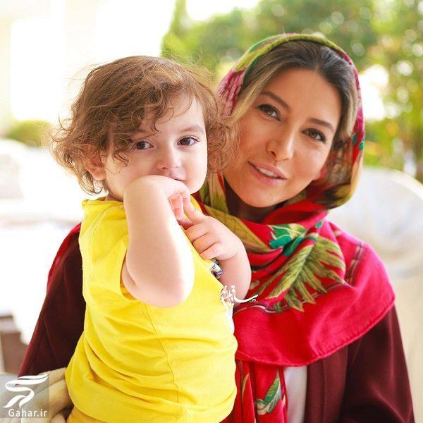 862417 Gahar ir عکس فریبا نادری و دختر زیبایش
